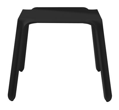 Outdoor - Garden Tables - Easy Garden table by Magis - Black - 72.4 x 72.4 cm - HPL, Polypropylene