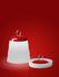 Cri Cri LED Outdoor Lampe ohne Kabel / H 31 cm - mit USB-Ladekabel - Foscarini