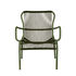 Loop Lounge Rope Low armchair - / Stackable - Hand-woven polypropylene cord by Vincent Sheppard