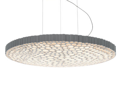 Illuminazione - Lampadari - Sospensione Calipso LED 3000K - / Ø 52 cm - Si connette allo smartphone di Artemide - Bianco / Connesso (app smartphone) - Tecnopolimero
