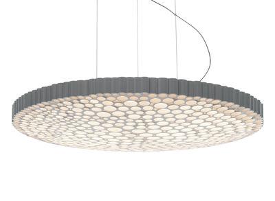 Luminaire - Suspensions - Suspension Calipso LED 3000K / Ø 52 cm - Bluetooth - Artemide - 3000 Kelvin / Blanc - Technopolymère