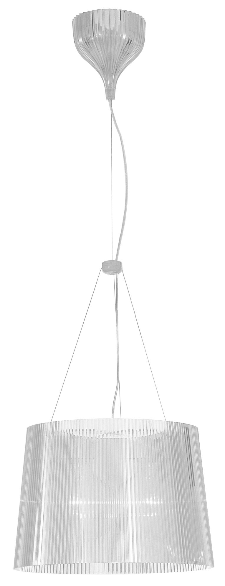 Luminaire - Suspensions - Suspension Gé - Kartell - Cristal - Polycarbonate