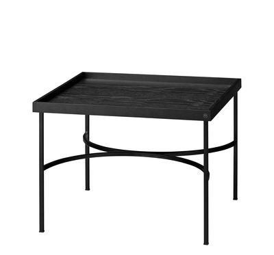 Table basse Unity / Chêne & fer - AYTM noir en métal/bois
