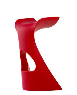 Mobilier - Tabourets de bar - Tabouret de bar Koncord / H 73 cm - Plastique - Slide - Rouge - polyéthène recyclable