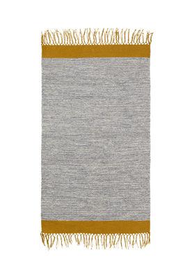 Interni - Tappeti - Tappeto Melange - / 60 x 100 cm - Tessuto a mano di Ferm Living - Grigio - 100% cotone