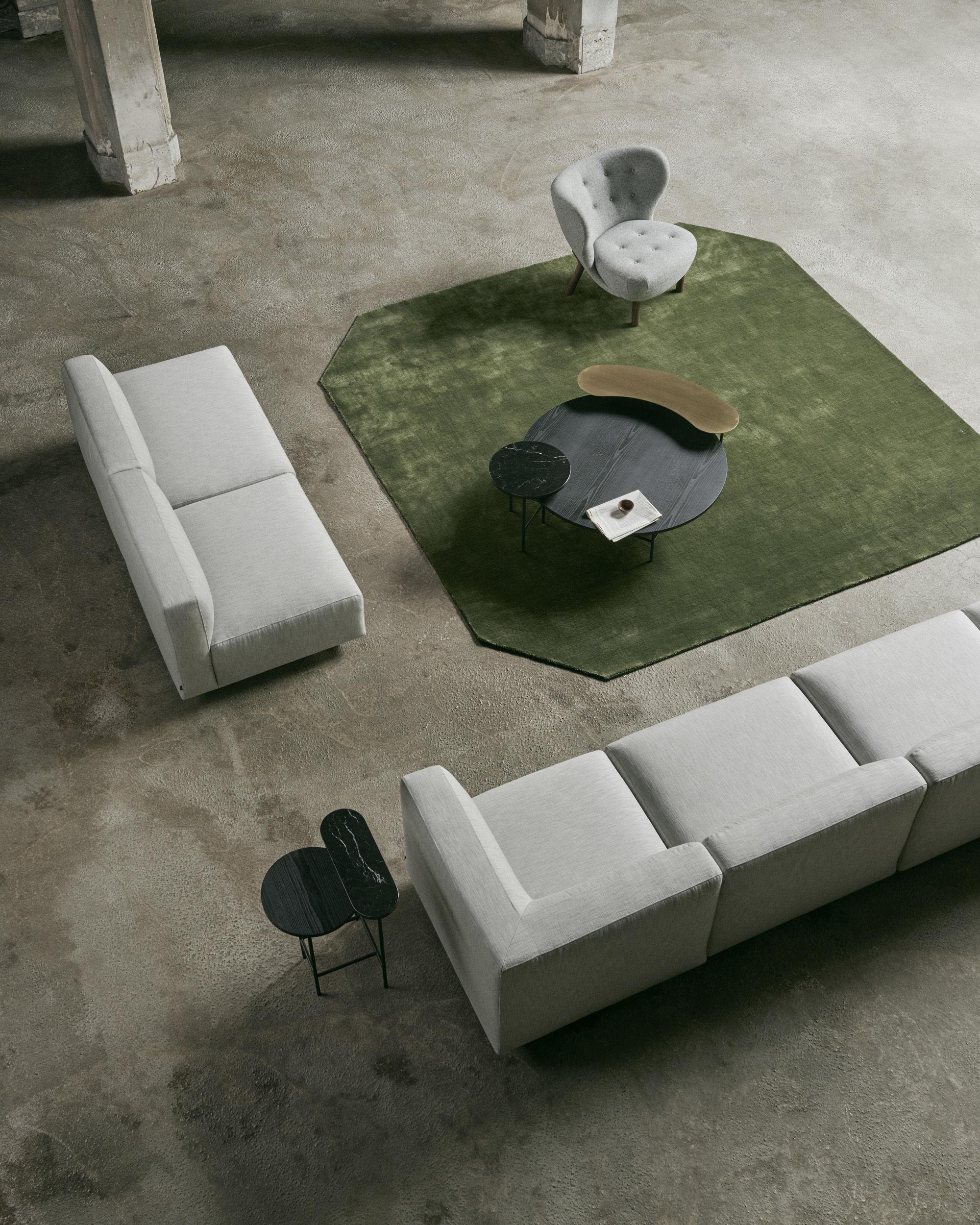 teppich the moor ap6 von tradition gr n made in design. Black Bedroom Furniture Sets. Home Design Ideas