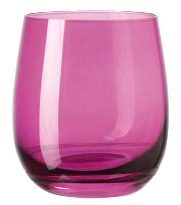 Verre à whisky Sora / H 10 cm - Leonardo violet en verre