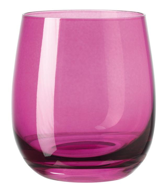 Arts de la table - Verres  - Verre à whisky Sora / H 10 cm - Leonardo - Violet - Verre
