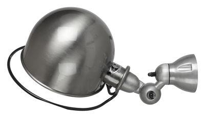 Leuchten - Wandleuchten - Loft Wandleuchte Ø 20 cm - Jieldé - Edelstahl, gebürstet - gebürsteter rostfreier Stahl, Porzellan