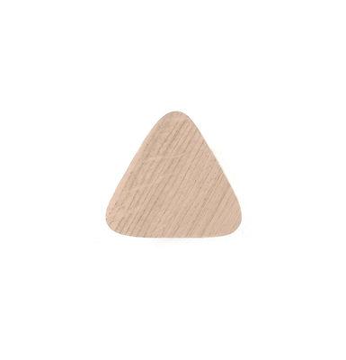 Image of Appendiabiti Leonie Medium - / L 10 cm - Rovere di Hartô - Legno naturale - Legno