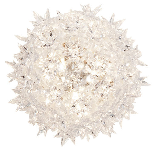 Illuminazione - Lampade da parete - Applique Bloom di Kartell - Cristallo - policarbonato