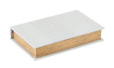 Déco - Boîtes déco - Boîte Circles / Tissu - House Doctor - Gris clair - MDF, Tissu