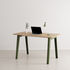 New Modern Desk - / 130 x 70 cm - Eco-certified oak by TIPTOE
