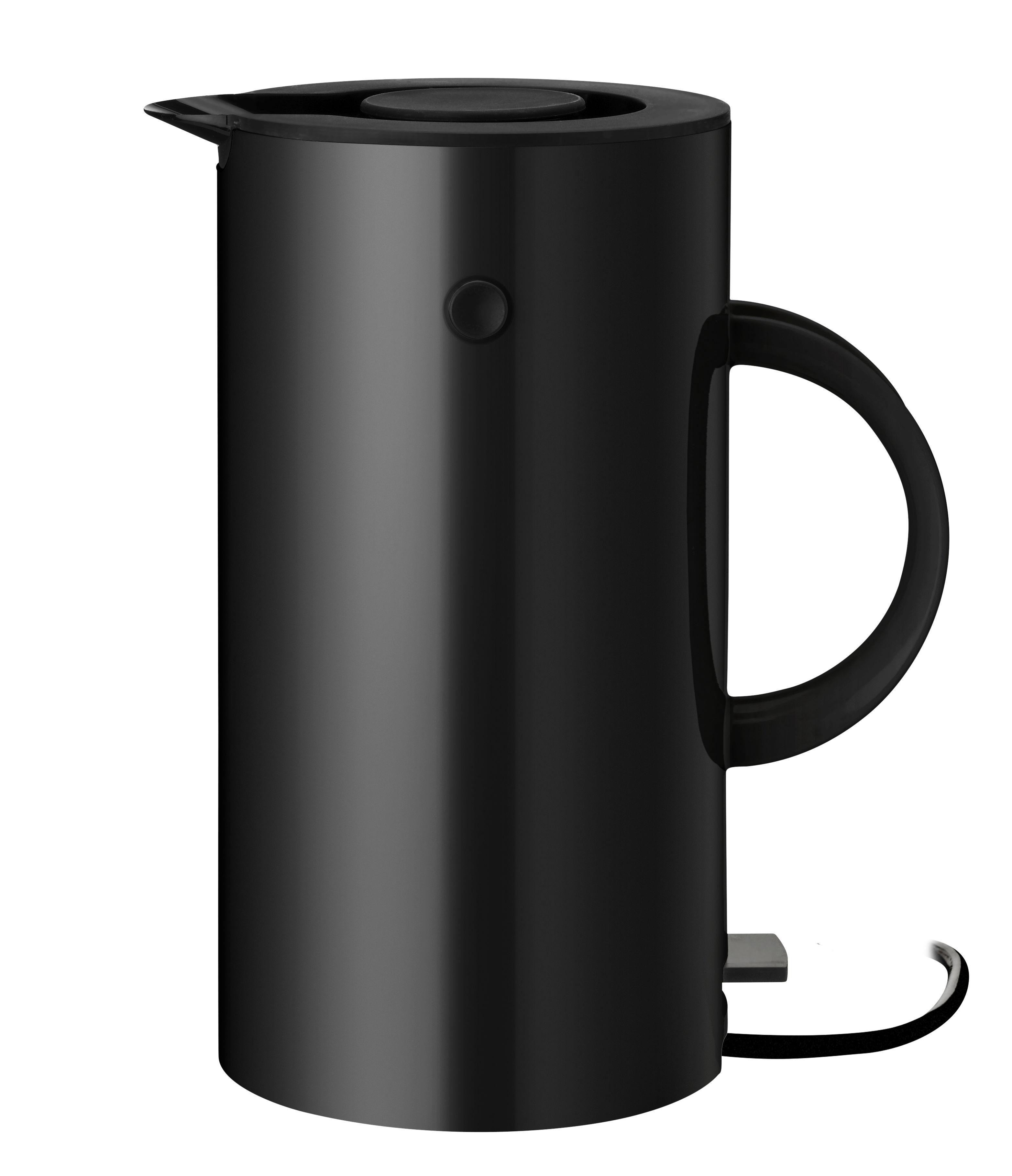 Kitchenware - Kettles & Teapots - EM77 Electric kettle - / 1.5 L by Stelton - Black - ABS plastic