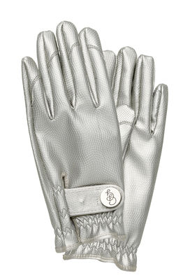 Outdoor - Pots & Plants - Garden gloves - / Large Size by Garden Glory - Silver - Brass, Polyurethane