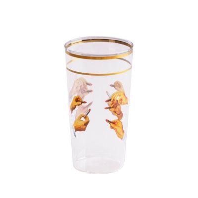 Tableware - Wine Glasses & Glassware - Toiletpaper - Lipsticks Glass by Seletti - Lipstick - Borosilicated glass