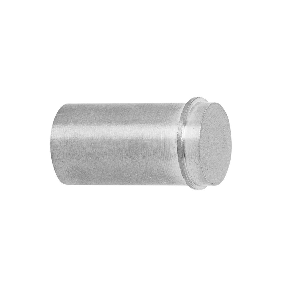 Furniture - Coat Racks & Pegs - Métal Small Hook - / Handle - Ø 2 cm by Ferm Living - Steel - Stainless steel