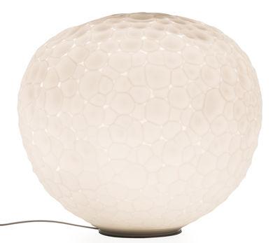 Illuminazione - Lampade da tavolo - Lampada da tavolo Meteorite - / Ø 35 cm di Artemide - Bianco - vetro soffiato