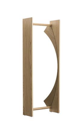 Miroir à poser Little Big / Convexe - L 52 x H 134 cm - Magis Collection Me Too bois naturel en bois