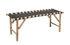 Panchina Vida - / L 115 cm - Gambe pieghevoli di Bloomingville