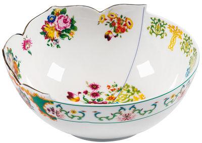 Saladier Hybrid - Zaira Ø 22,5 cm - Seletti multicolore en céramique