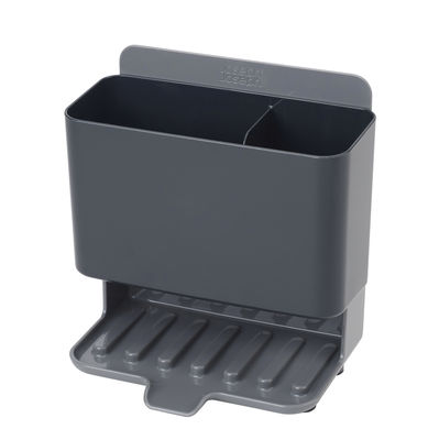 Kitchenware - Kitchen Equipment - Caddy Tower Sink area organiser - / Compact by Joseph Joseph - Grey - ABS