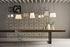 Sospensione Bibendum LED - / Ø 15 cm - Vetro di Karman