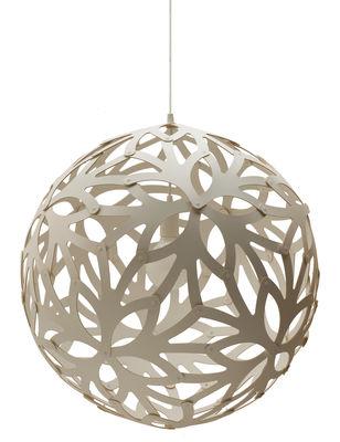 Illuminazione - Lampadari - Sospensione Floral - Ø 60 cm - Bianco - Esclusiva web di David Trubridge - Bianco - Pino