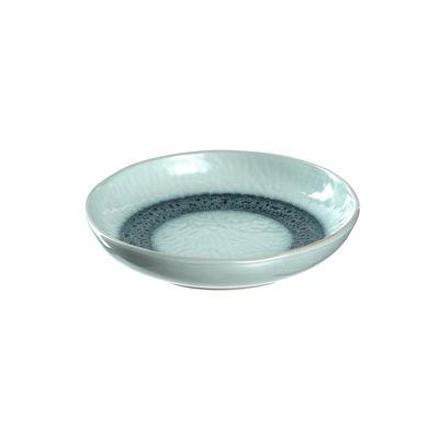 Tableware - Plates - Matera Soup plate - / Sandstone - Ø 21 cm by Leonardo - Blue - Enamelled sandstone