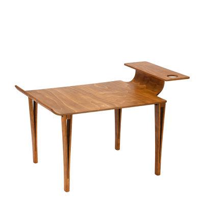 Table basse Biplan / 84 x 61 cm x H 49 cm - Tsé-Tsé bois naturel en bois