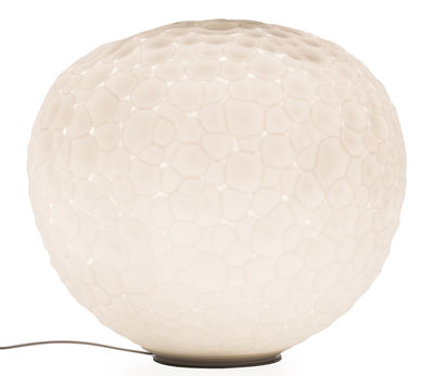 Lighting - Table Lamps - Meteorite Table lamp - Ø 35 cm by Artemide - White - Blown glass
