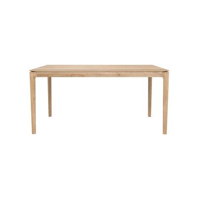 Table rectangulaire Bok / Chêne massif - 180 x 90 cm / 8 personnes - Ethnicraft bois naturel en bois