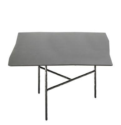 Arredamento - Tavolini  - Tavolino XXX Large - / 52 x 50 x H 33 cm di Opinion Ciatti - Nero - Ferro battuto , Nichel galvanizzato