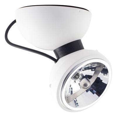 Luminaire - Appliques - Applique Monopro 360° / Plafonnier - Azimut Industries - Blanc - Métal laqué