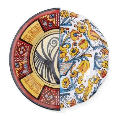 Arts de la table - Assiettes - Assiette à dessert Hybrid Huaricanga / Ø 20 cm - Seletti - Huaricanga - Porcelaine