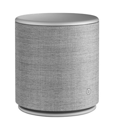 Accessories - Speakers & Audio - M5 Bluetooth speaker - / Bluetooth, Wifi & AirPlay by B&O PLAY by Bang & Olufsen - Grey - Brushed aluminium, Kvadrat fabric, Polymer