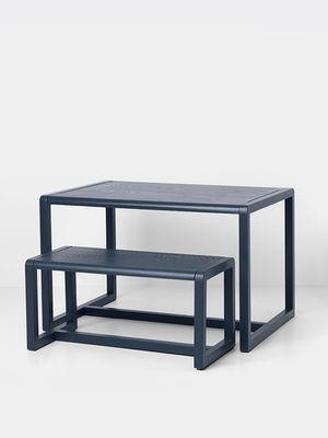 Ferm Living Little Architect Children Table Blue Made In Design Uk