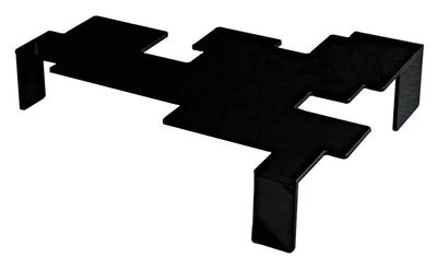 Furniture - Coffee Tables - Space Invaders Coffee table - Model 2 by Glas Italia - Black - Soak glass