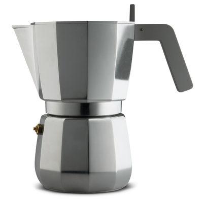 Tableware - Tea & Coffee Accessories - Moka Italian espresso maker - /9 cups - Induction by Alessi - Steel - Cast aluminium, Polyamide