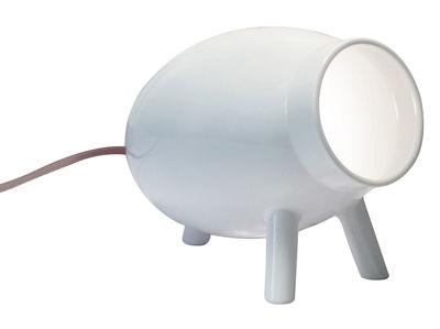 Illuminazione - Lampade da tavolo - Lampada da tavolo Lumoid / Ceramica - Fatto a mano - Danese Light - Bianco - Ceramica smaltata