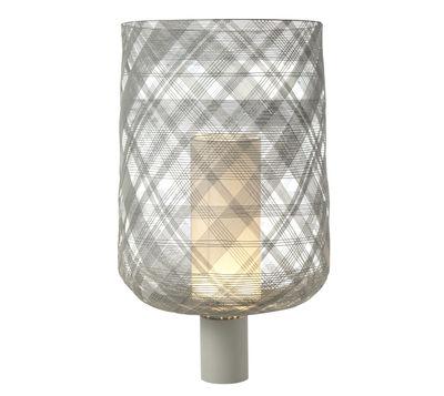 Lampe de table Antenna Large - H 65 cm - Forestier gris clair en métal