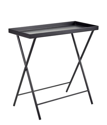 Furniture - Coffee Tables - Plant stand - / End table - L 62 x H 60 cm by Serax - Black - Lacquered metal