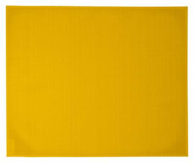 Image of Set da tavola - / 35 x 45 cm di Fermob - Giallo - Tessuto