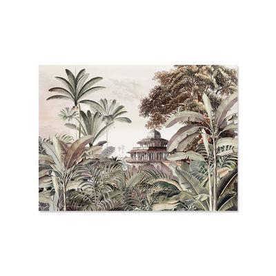 Arts de la table - Nappes, serviettes et sets - Set de table Pondichery / Vinyle - 33 x 45 cm - PÔDEVACHE - Jungle vintage / Multicolore - Vinyle