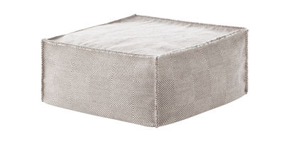 Sail Sitzkissen / quadratisch, 75 x 75 cm - Gan - Taupe