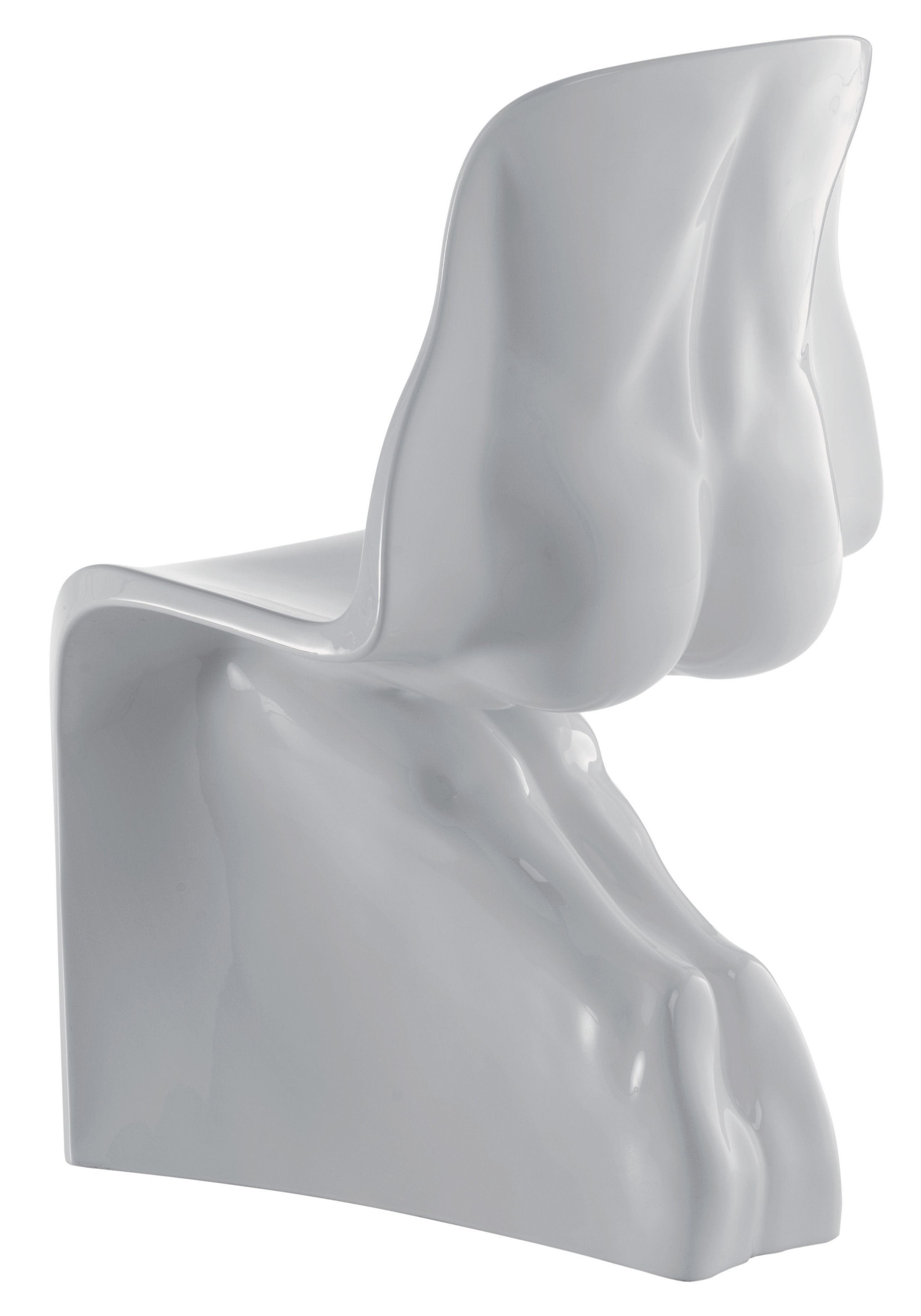 Möbel - Stühle  - Him Stuhl lackiert - Casamania - Weiß - Polyäthylen
