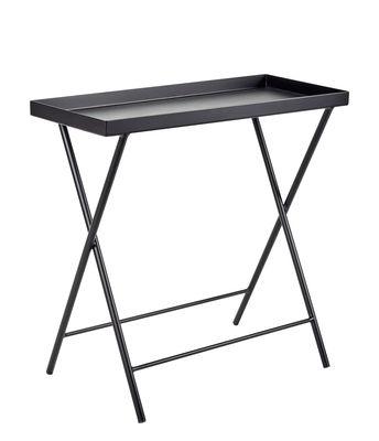 Support pour plantes / Table d'appoint - L 62 x H 60 cm - Serax noir en métal