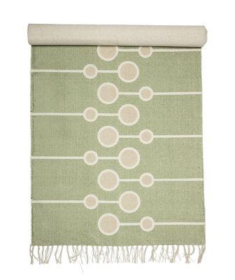 Teppich / Baumwolle - 200 x 70 cm - Bloomingville - Grün