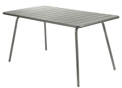 Luxembourg Tisch / für 6 Personen - 143 x 80 cm - Fermob - Rosmarin