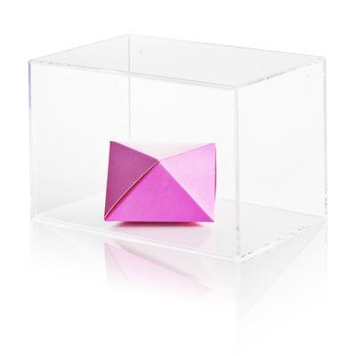 Déco - Boîtes déco - Vitrine Show-all / Medium - Nomess - L 30 cm / Transparent - Acrylique